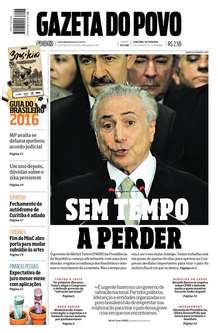 Capa gazeta do povo 130516