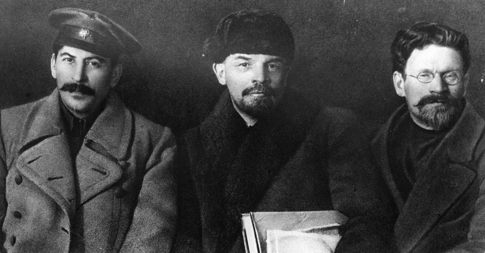 Stalin lenin trotsky