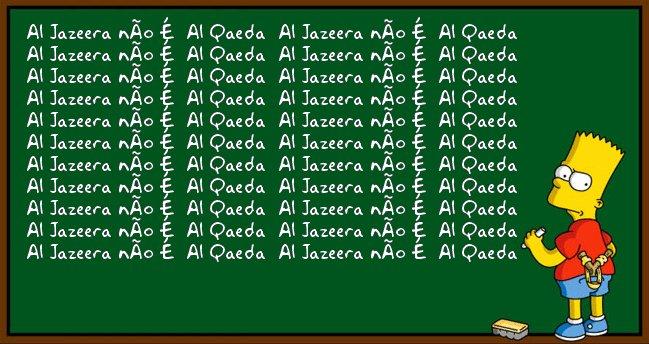 Al jazeera não é al qaeda