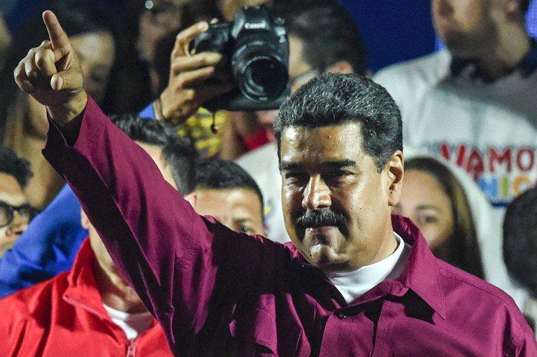 Nicolasmaduro reeleito 2018