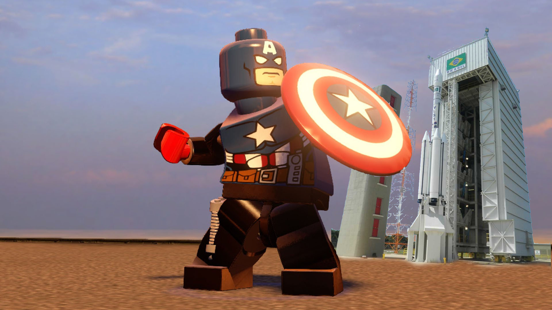 Capitão América - LEGO video game