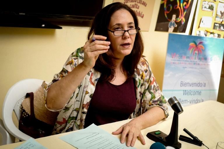 Diputada Mariela Castro Espín - AFP / ADALBERTO ROQUE
