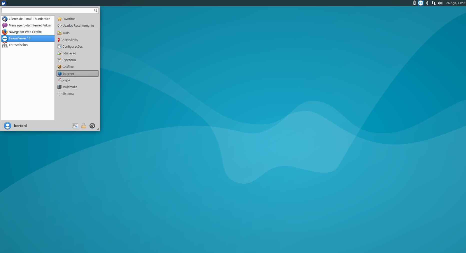 Xubuntu com teamviewer13