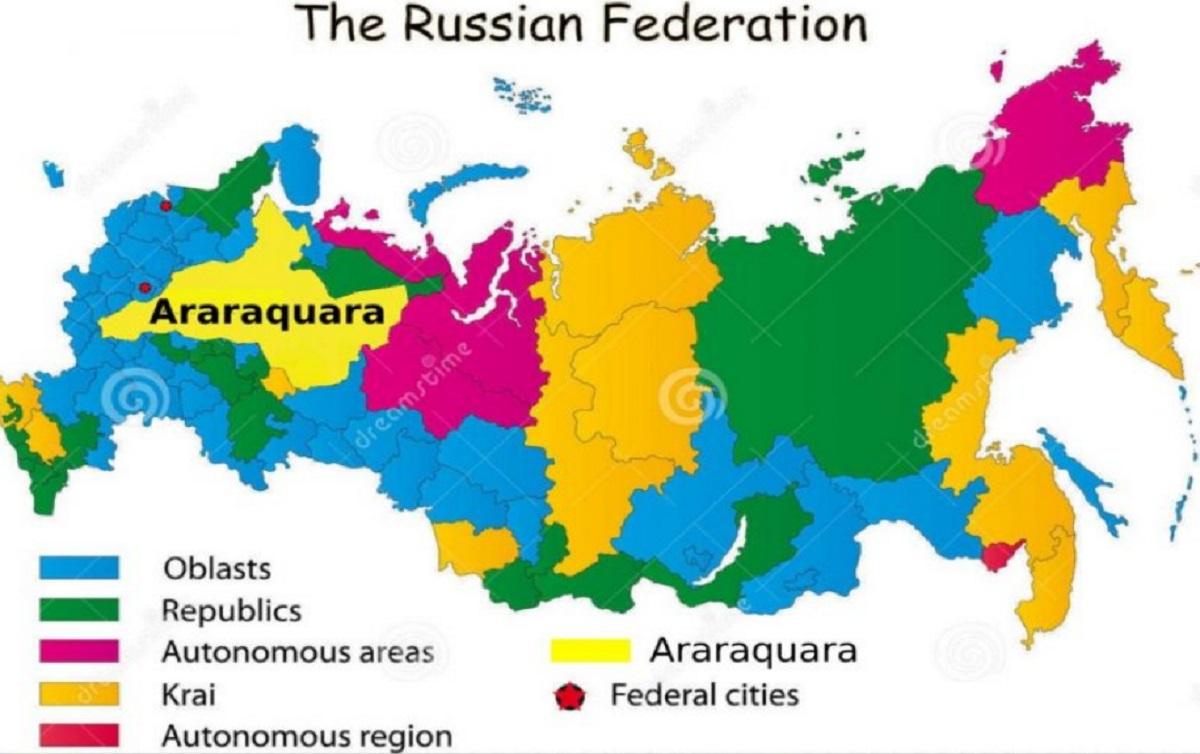 Ráquis russos de araraquara